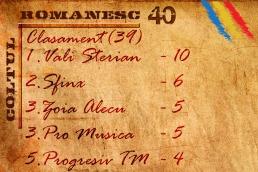 romanesc 40